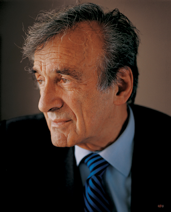 Holocaust survivor Elie Weisel, who was recently on the Mormom Church's list for a posthumous baptism.