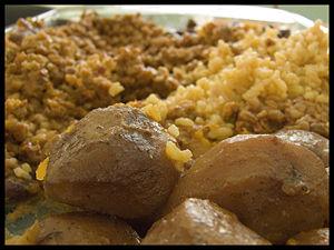 Chamin - an early Sephardic dish.