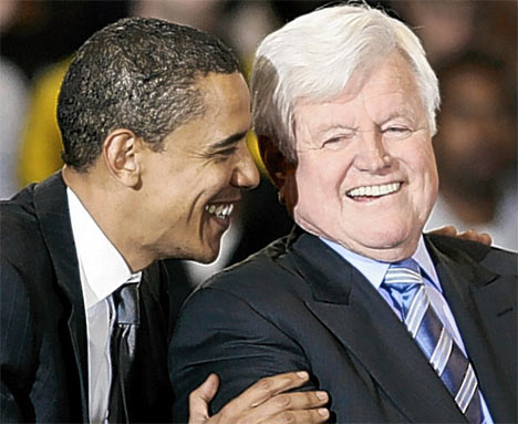 Image result for late Sen Edward Kennedy.